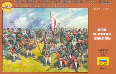 8049 - Infanterie russe de Pierre le Grand 1/72