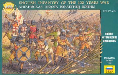 8060 - Infanterie anglaise Guerre de Cent ans 1/72