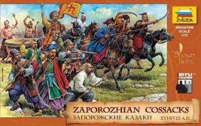 8064 - Zaporozhian Cossacks 1/72