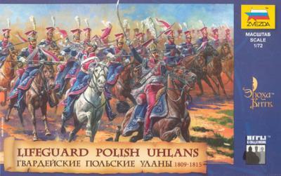 8075 - Lanciers polonais de la garde 1/72