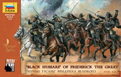 8079 - Hussards noirs de Frédéric le Grand 1/72