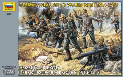 8083 - Infanterie allemande WW1 1/72