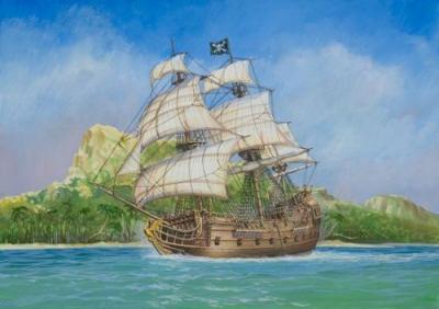 9031 - Pirate Ship 'Black Swan' 1/72