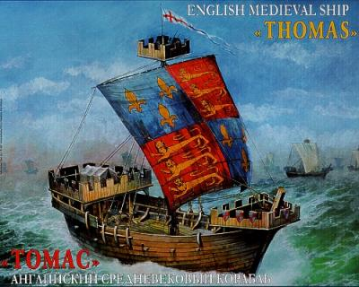 9038 - English Medieval Ship 'Thomas' 1/72