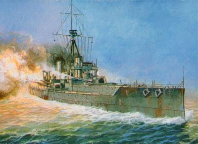 9039 - HMS Dreadnought WWI Battleship 1/350