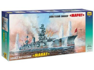 9052 - Soviet Battleship Marat 1/350